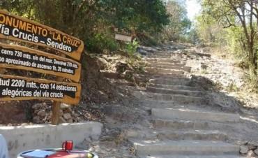 Desapareció un turista que subió al Cerro de la Cruz en Carlos Paz