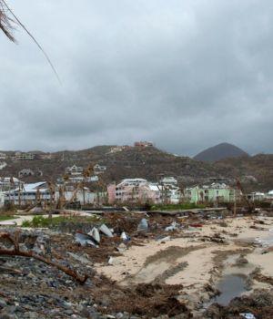 Potente huracán