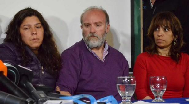 Familiares de Maldonado dieron una conferencia de prensa y todavía no aseguran que el cuerpo hallado sea de Santiago