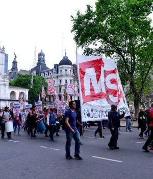 Baja adhesión en nueva marcha por Maldonado