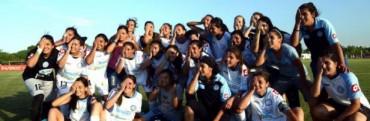 Belgrano, campeón del fútbol femenino de la LCF