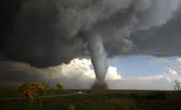 Tornado que no dejó daños ni heridos