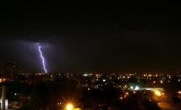 Córdoba también fue alcanzada por la tormenta