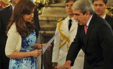 Asumió Aníbal Fernández como secretario de la Presidencia