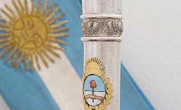 Pallarols denunció amenazas de Casa Rosada por el bastón