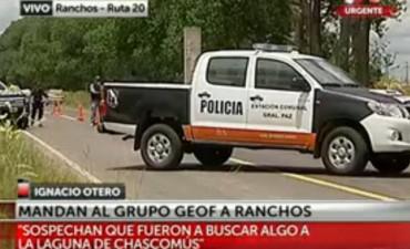 Gran operativo policial en Ranchos y Chascomús para dar con los prófugos