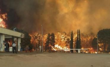 Advierten que el incendio en la Costa Atlántica fue intencional