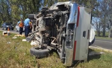 Increible accidente en la ruta 9 norte en Córdoba