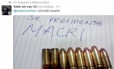 Amenazaron al presidente Macri:
