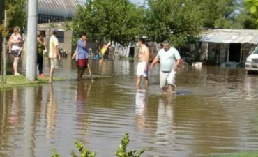 Otra vez Jovita, bajo el agua: califican la situación como