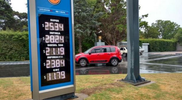 Ya rige el aumento en las naftas para Córdoba