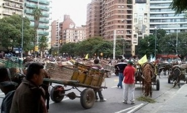 Marchas complican el tránsito en el Centro de la ciudad de Córdoba