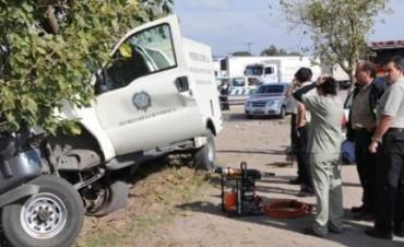 Cadena de tragedias: la morguera accidentada iba a Arroyito