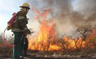 Controlan incendios en Córdoba e identifican a uno de los responsables