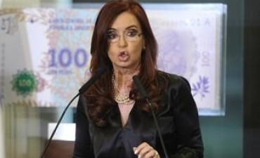 Cristina defendió la designación de César Milani en cadena nacional
