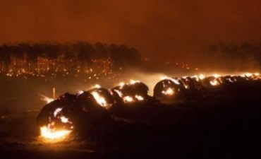 Ya son 450 los evacuados por los incendios en Córdoba