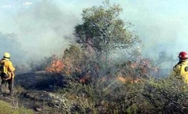 Bomberos controló dos focos de incendio en el interior provincial