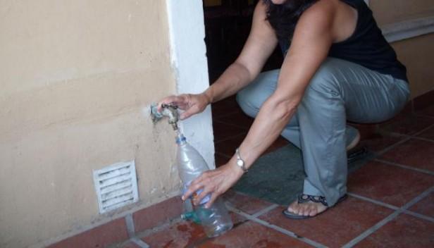 Corte de suministro de agua por 24 hs