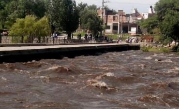 Creció el río San Antonio