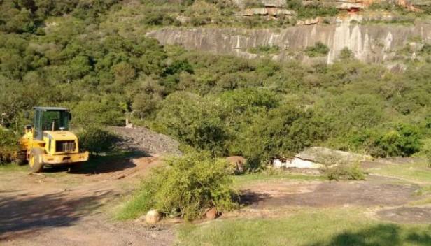 Inquietud por movimiento de suelos en el Cerro Colorado