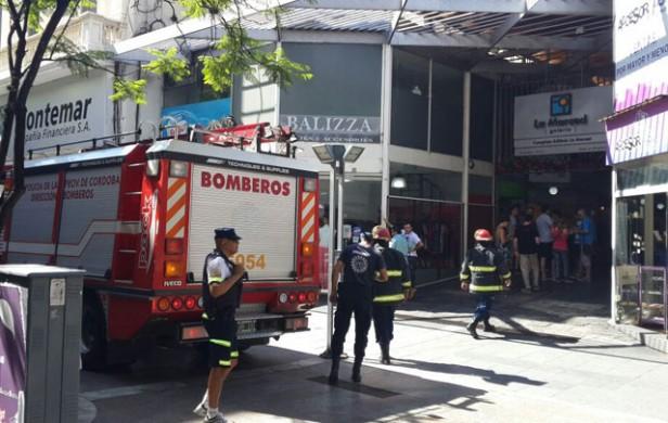 Incendio en un restaurante del centro cordobés