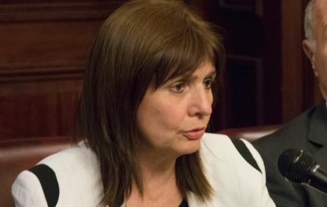 Bullrich admitió que recibió información falsa sobre las otras detenciones