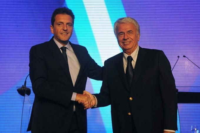 Sergio Massa postuló a De la Sota para presidir el PJ: