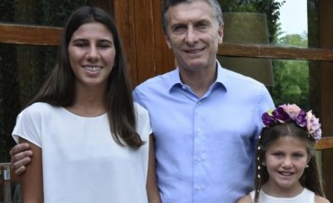 Macri les prometió a las hijas de Nisman