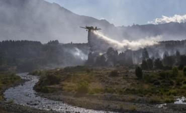 Detuvieron a dos sospechosos de provocar el incendio en el Parque Nacional Los Alerces
