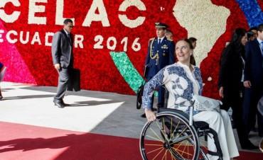 Celac 2016: Gabriela Michetti cruzó a Nicolás Maduro