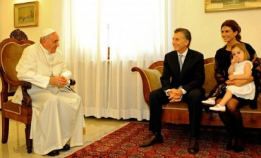 El 27 de febrero en el Vaticano el Papa recibe a Macri