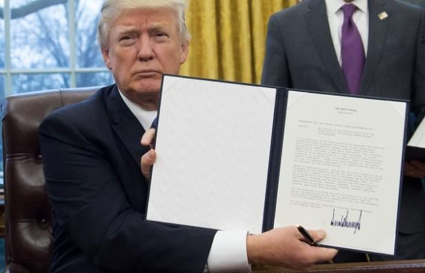 Trump decretó la salida de EE.UU. del Acuerdo Transpacífico