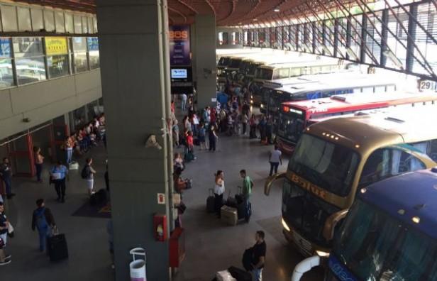 Se intensifica el movimiento en la Terminal de Córdoba