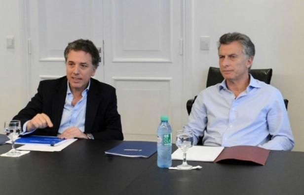 Dujovne mostró a Macri datos positivos sobre la economía