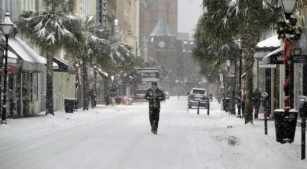 Por la ola de frío que azota en EE.UU se prevén temperaturas inferiores a las de marte