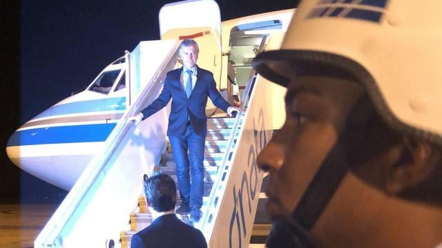 Macri llegó a Brasil y hoy se reúne con Jair Bolsonaro