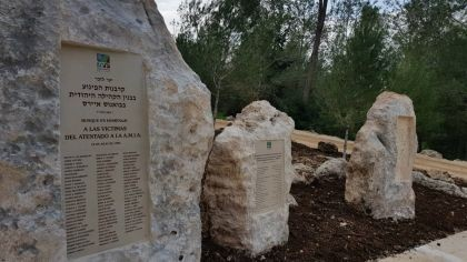 Israel inaugura hoy un monumento en honor a Nisman cerca de Tel Aviv