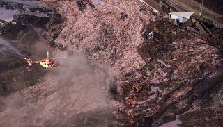 Una avalancha arrasó con un pueblo en Brasil: por el momento 50 muertos y 200 desaparecidos
