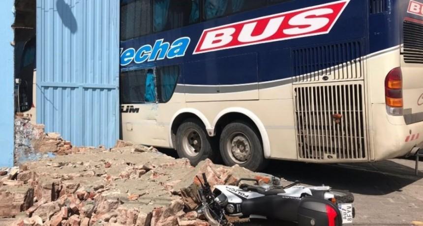 Insólito accidente en el estadio de Belgrano