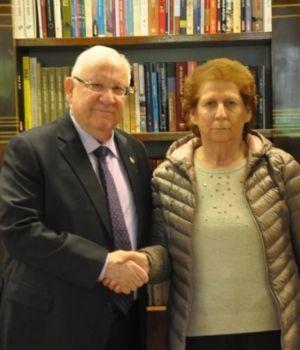 Israel recibió a la madre de Nisman