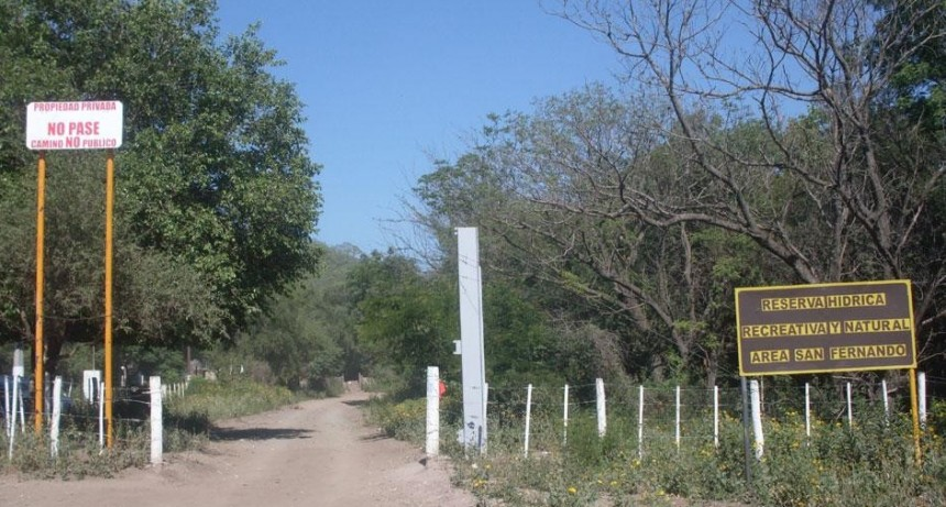 Camino a San Fernando. Comunicado del Municipio