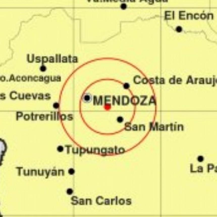 Fuerte sismo en Mendoza: 5.1º en la escala de Richter
