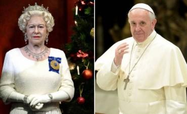 El Papa se reunirá con la reina Isabel