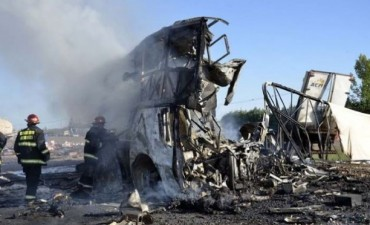 Mendoza. Un camión a contramano causó un accidente fatal