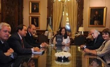 Presentaron a Cristina Kirchner el proyecto de reforma del Código Penal