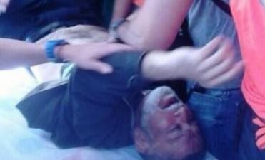 Venezuela: la policía de Maduro hirió a un sacerdote antichavista