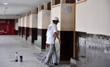 Córdoba. La mayoría de las escuelas en obras no estará lista para el inicio de clases