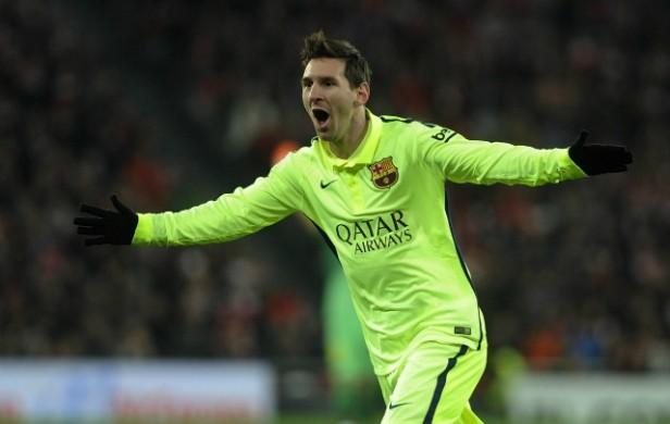Con Messi brillante, Barsa goleó y está a uno de Real Madrid