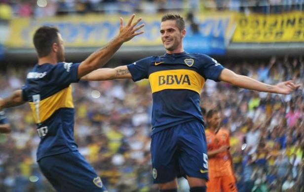 Boca venció 3 a 1 a Olimpo en el debut del Campeonato