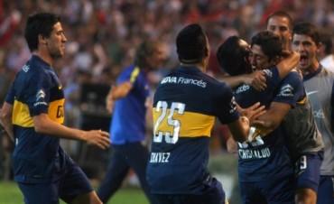 Boca goleó 5-0 a River en Mendoza